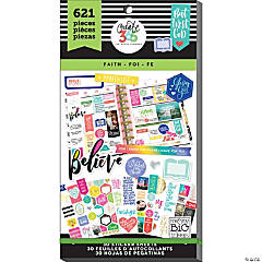 Create 365 The Happy Planner Faith Value Pack Stickers - Classic