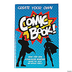 Create Your Own Comic Book Activity Pads