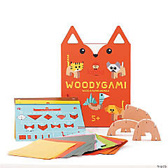 Create Your Own WoodyGami Animals Kit