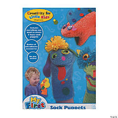 Creativity for Kids Make your Own Sock Puppet
