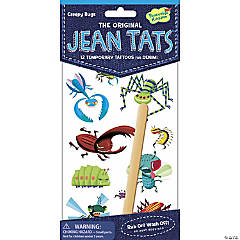 Creepy Bugs Jean Tats Pack