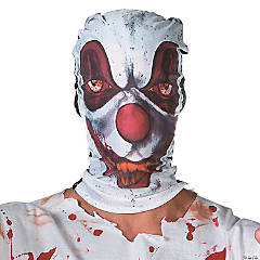 Creepy Clown Hood Mask