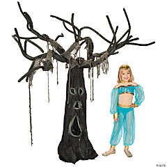 Creepy Willow Tree Halloween Décor