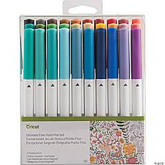 Cricut Ultimate Fine Point Pen Set 30/Pkg-