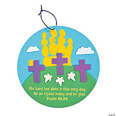 3 Cross Handprint Sign Craft Kit