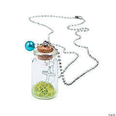 Cross In A Bottle Necklace Idea