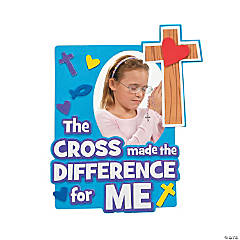 Cross Made the Difference Picture Frame Craft Kit
