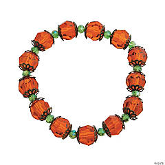 Crystal Pumpkin Bracelet Craft Kit