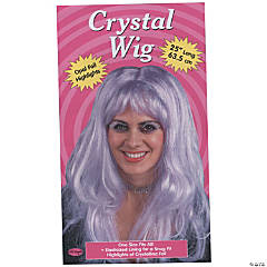 Crystal Wig Purple