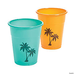 Cuban Party Plastic Cups