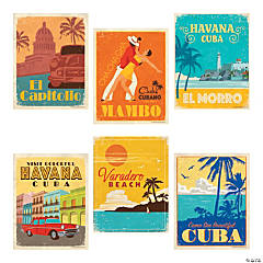 Cuban Party Posters