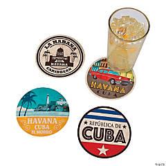 Cuban Print Coasters