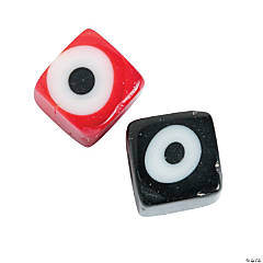 Cube Eye Beads - 5mm - 6mm