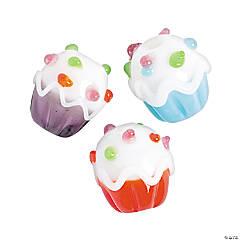 Cupcake Lampwork Beads