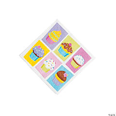 Cupcake Party Beverage Napkins