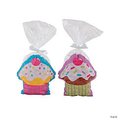 Cupcake Party Cellophane Bags