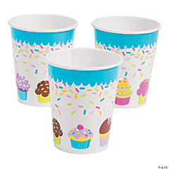 Cupcake Party Cups