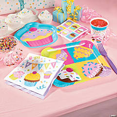 Cupcake Party Supplies