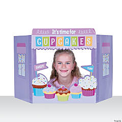 Cupcake Party Tabletop Photo Cardboard Stand-Up