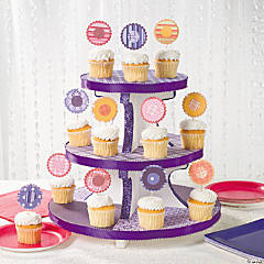 Cupcake Stand & Picks Idea