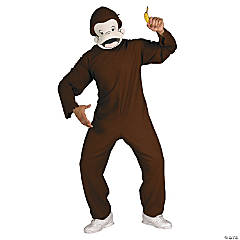 Curios George Costume for Men