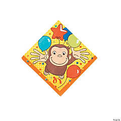 Curious George<sup>&#174;</sup> Beverage Napkins