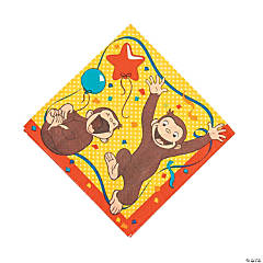 Curious George<sup>&#174;</sup> Luncheon Napkins
