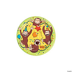 Curious George<sup>&#174;</sup> Paper Dessert Plates
