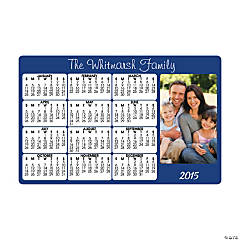 Custom Horizontal 2015 Photo Calendar Magnets