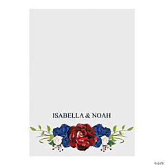 Custom Photo Bold Bouquet Thank You Cards