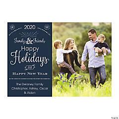Custom Photo Family & Friends Christmas Cards