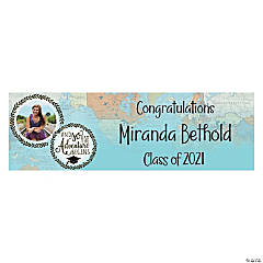 Custom Photo Graduation Adventure Vinyl Banner