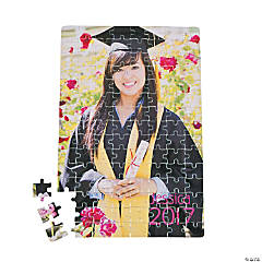 Custom Photo Graduation Puzzle