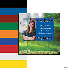 Custom Photo Graduation Yard Sign