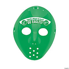 Custom Photo Hockey Masks - Green