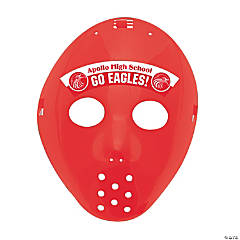 Custom Photo Hockey Masks - Red