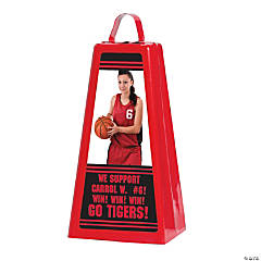 Custom Photo Jumbo Cowbell - Red