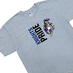 Custom Photo Large Gray Team Spirit Shirt - Pride