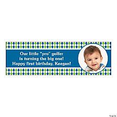 Custom Photo Medium Golf Par-Tee Vinyl Banner