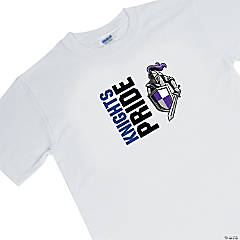 Custom Photo Medium White Team Spirit Shirt - Pride