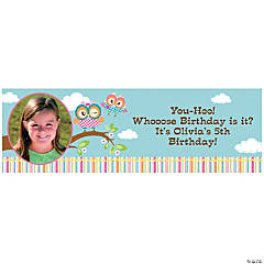 Custom Photo Medium You're A Hoot Vinyl Banner