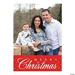 Custom Photo Merry Christmas Cards
