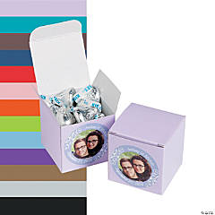 Custom Photo Mini Favor Boxes