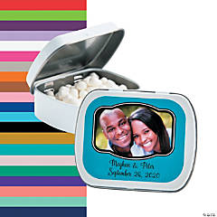 Custom Photo Mint Tins with Frame