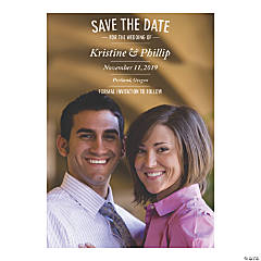Custom Photo Save-the-Date Cards