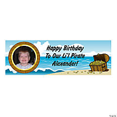 Custom Photo Small Pirate Vinyl Banner