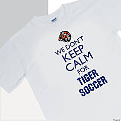Custom Photo Team Spirit Shirt - We Don't Keep Calm