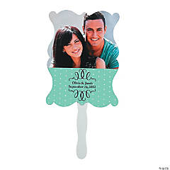 Custom Photo Wedding Hand Fans