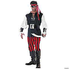 Cut Throat Pirate Costume for Men