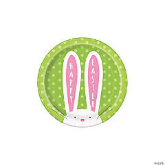 Cute Easter Dessert Paper Plates